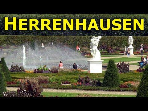 Herrenhausen Gardens, Hanover - Visit to The Great Garden.