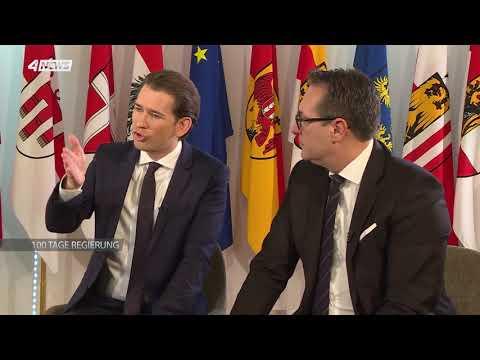 Puls4-Interview mit Bundeskanzler Kurz & Vizekanzler Strache