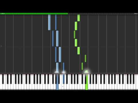 Lullaby (My Sassy Girl) Piano Tutorial on Synthesia