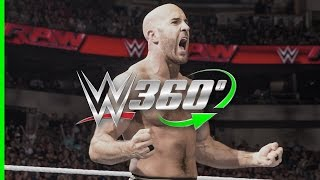 Relive Cesaro's epic return to WWE on Raw in 360°!