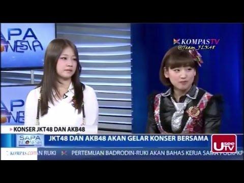Haruka JKT48 & Haruka Shimada AKB48 (Full) @ Sapa Indonesia Siang KompasTV 20-2-2015
