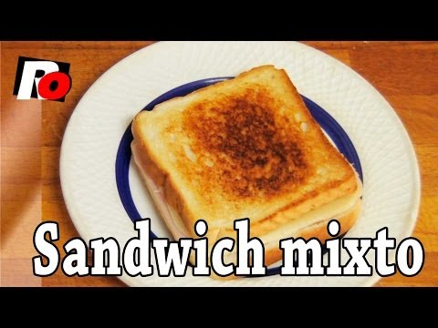 Sandwich mixto - Recetas de cocina
