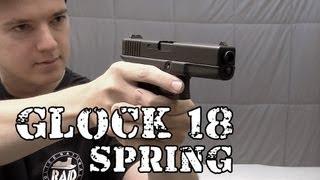 Vendo Airsoft Pistola Glock 18 SPRING - Legalizada Brasil