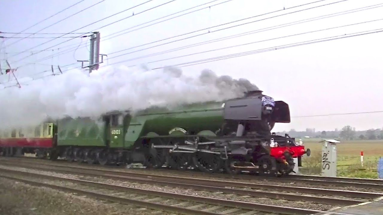 Free Blueprints Fast Flying Scotsman 75mph The Inaugural Run Youtube