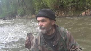 Ловля хариуса в тайге 12 й день из 10 дней рыбалка охота тайга лес природа поход выживание в лесу