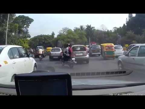 MG Road Bangalore to Sankey Road Full HD