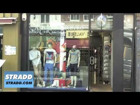 STRADD American Retro London Store Tour HD