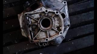 Стыковка двс ВАЗ КПП УАЗ   переходная плита