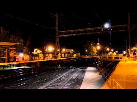 [HD] Amtrak Viewliner II Test Train (HHP-8 pushes Metroliner Cab Car)