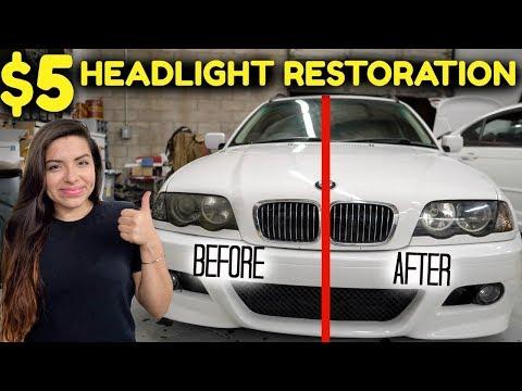 HEADLIGHT RESTORATION KIT UNDER $5 -Does it WORK?