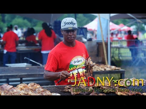 Grace Jamaican Jerk Festival (NYC) 2017