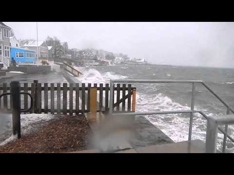 winter storm 2014, Edgewater Drive, Quincy MA
