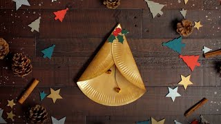 Click here to play the How to create jingle bells using paper plates video