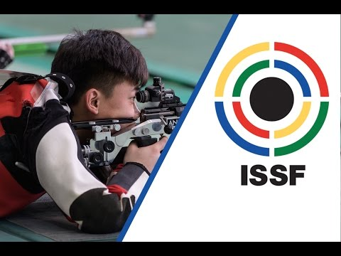 50m Rifle Prone Men Final - 2017 ISSF World Cup Stage 1 in New Delhi (IND)