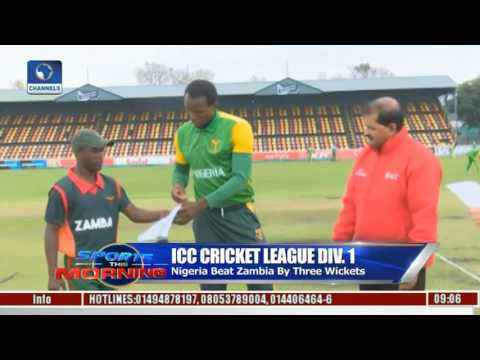 Sports This Morning NBA Results, ICC Cricket League In Focus