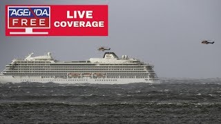 Norway Cruise Ship Passenger Rescue - LIVE COVERAGE