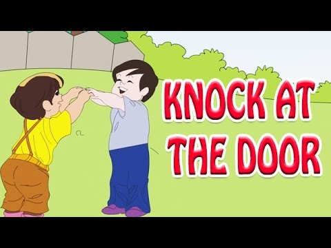 Knock At the Door - Nursery Rhymes in English  sc 1 st  YouTube & Knock At the Door - Nursery Rhymes in English - YouTube