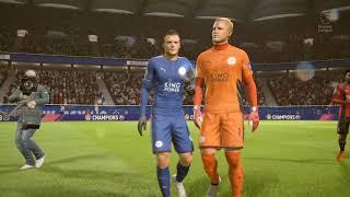 FIFA 18 PS4   AFC BOURNEMOUTH vs LEICESTER CITY   ENGLISH PREMIER LEAGUE PREDICTION   CPU VS CPU