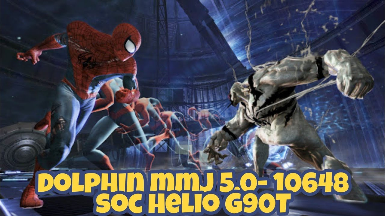 Spiderman: Edge of Time (Wii), dolphin mmj Android, gameplay on realme 6, Helio G90T.