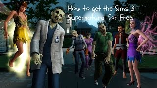 [MAC] How To Install The Sims 3 Supernatural Free