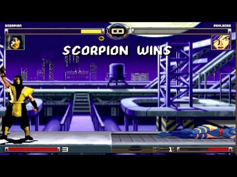 [MUGEN 2014] Scorpion