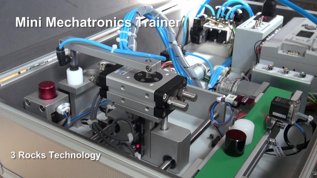 Mini Mechatronics Trainer/ PLC Trainer