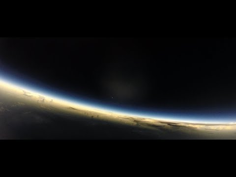 2017 Eclipse from High Altitude Balloon