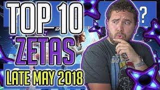 Top 10 Zetas Late May 2018 Star Wars Galaxy Of Heroes