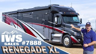2020 Renegade XL - 45' Bath and 1/2 - Freightliner Cascadia Chassis #7888 - IWS Motor Coaches