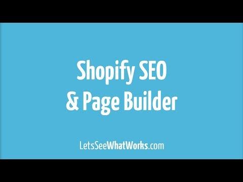 Wie Shopify mit der App Shogun zum Homepage Baukasten wird