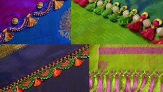 Saree Tassels and Saree Pallu Kuchu Designs