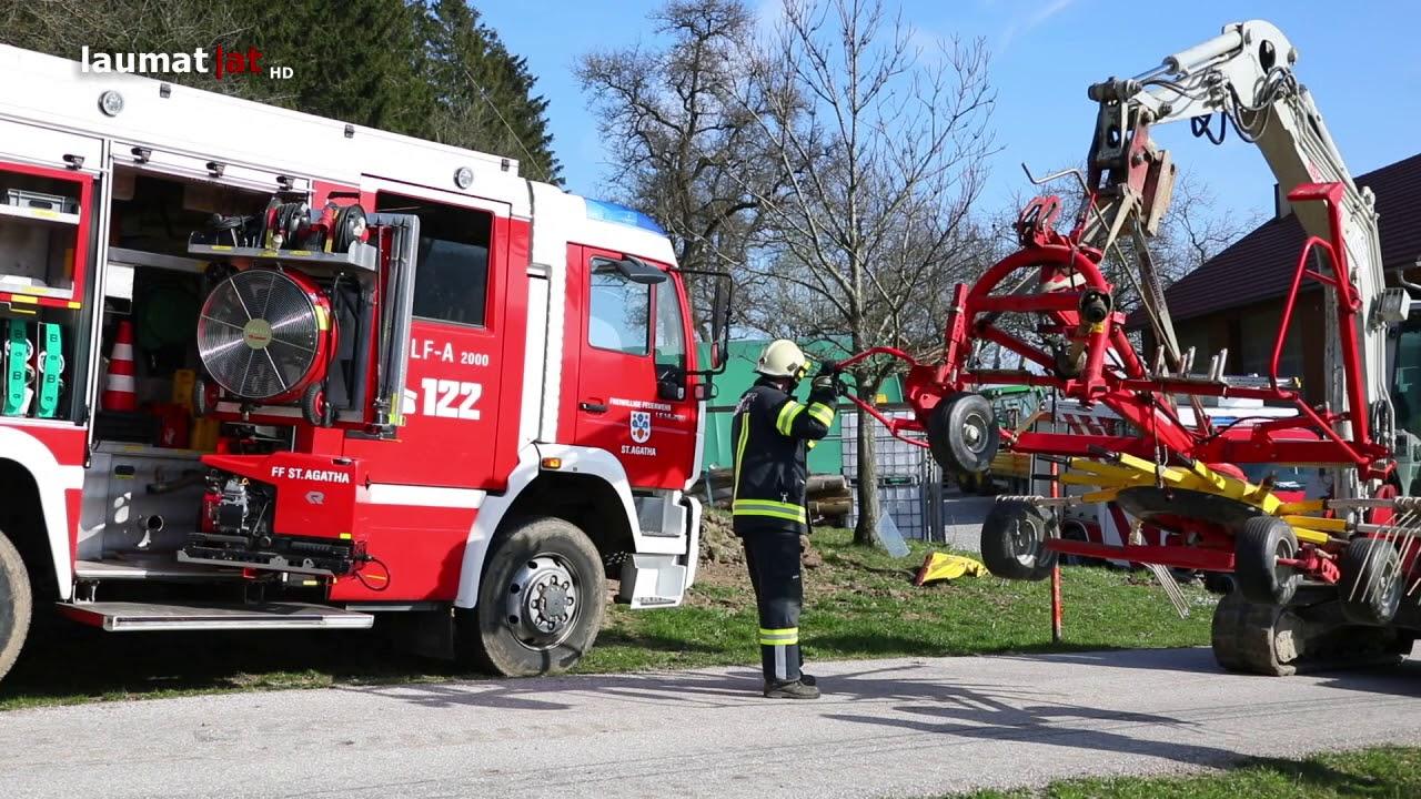 Unfall Mit Traktor