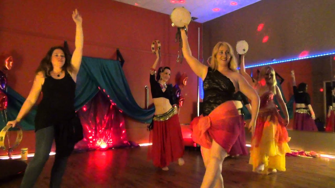 Tambourine Dance at Cabaret for a Cause - YouTube