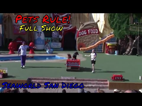 Pets Rule! Full Show at Seaworld San Diego