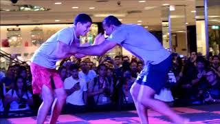 Ronaldo Jacaré e seu Jiu-Jitsu afiado no treino aberto do UFC 224