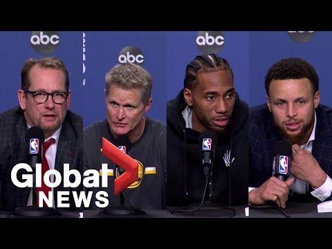 NBA Finals: Warriors vs. Raptors Game 5 post-game press conference