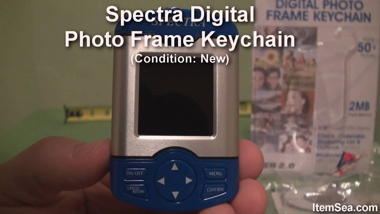 Spectra digital photo frame keychain itemsea youtube jeuxipadfo Choice Image
