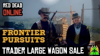 Red Dead Redemption 2 Online - Frontier Pursuits Trader Large Wagon Sale