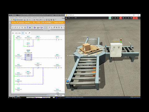 Siemens TIA Portal & Factory IO (Controlling a Scene with a Siemens PLC)