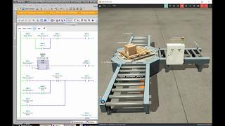 Siemens TIA Portal & Factory IO (Controlling a Scene with a Siemens PLC)