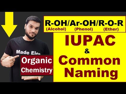 Alcohol Phenol Ether | Nomenclature Of Alcohol | 12th Organic (L-3) | NEET JEE AIIMS