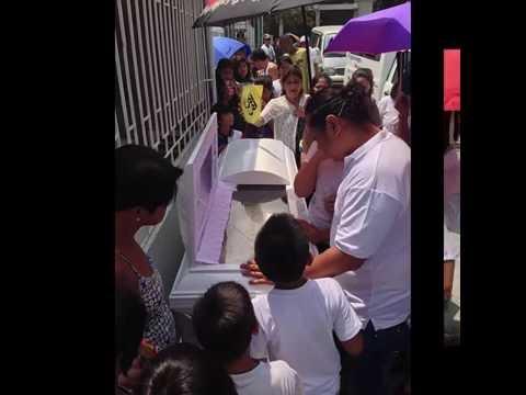 Loreta Pangilinan wake and burial