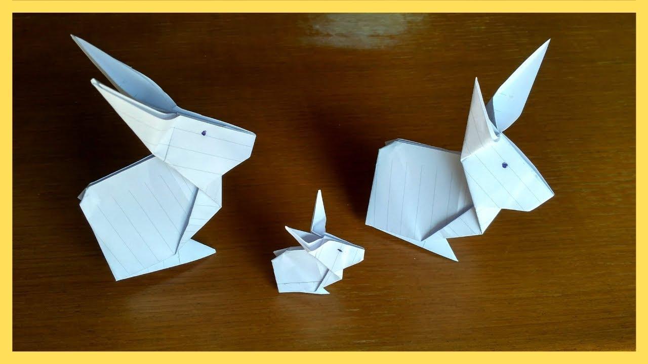Origami Lapin En Papier Facile Origami Lapin Facile En Francaistuto Youtube