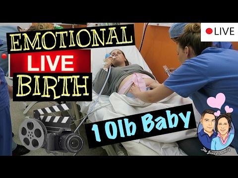 EMOTIONAL LIVE BIRTH !!! (BIRTH VLOG) NATURAL BIRTH!!!