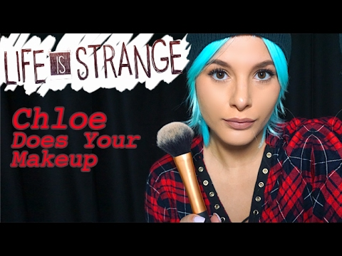 ASMR Chloe Does Your Makeup (Life Is Strange)   Lily Whispers ASMR thumbnail