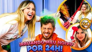24H IRRITANDO O MEU NOIVO E DEU RUIM!!!