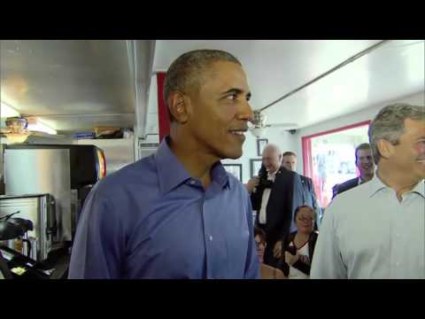 President Obama Visits Torchy's Tacos - Austin, TX - SXSW 2016