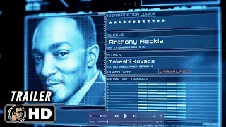 ALTERED CARBON Season 2 Official Cast Announcement (HD) Anthony Mackie Sci-Fi Series