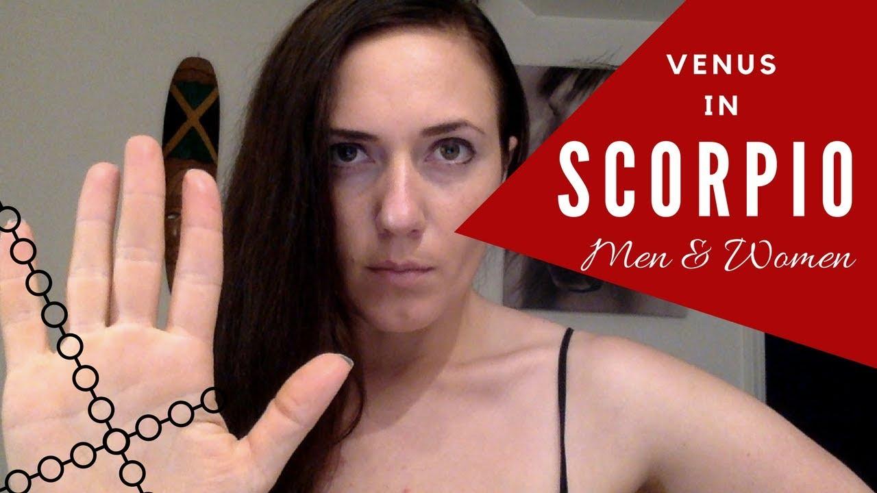 Venus in Scorpio Meaning for Men & Women or Masculine