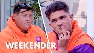 David Gives Jordan and Chyna a Good Telling-off!   Ibiza Weekender